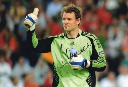 Jens Lehmann, Arsenal & Germany, signed 12x8 inch photo.